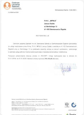 agencja ochrony inpuls siemianowice śląskie